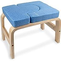 Myga Yoga Kruk voor Hoofdstand - Multifunctionele Yoga Sport Inversie Stoel Bank voor Headstand - Yoga Aids Headstander…