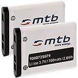 2x Batteria Li-40b/Li-42b per Olympus C-/FE-/VG-/VR-/ X-/mju-/µ-...Vedi lista