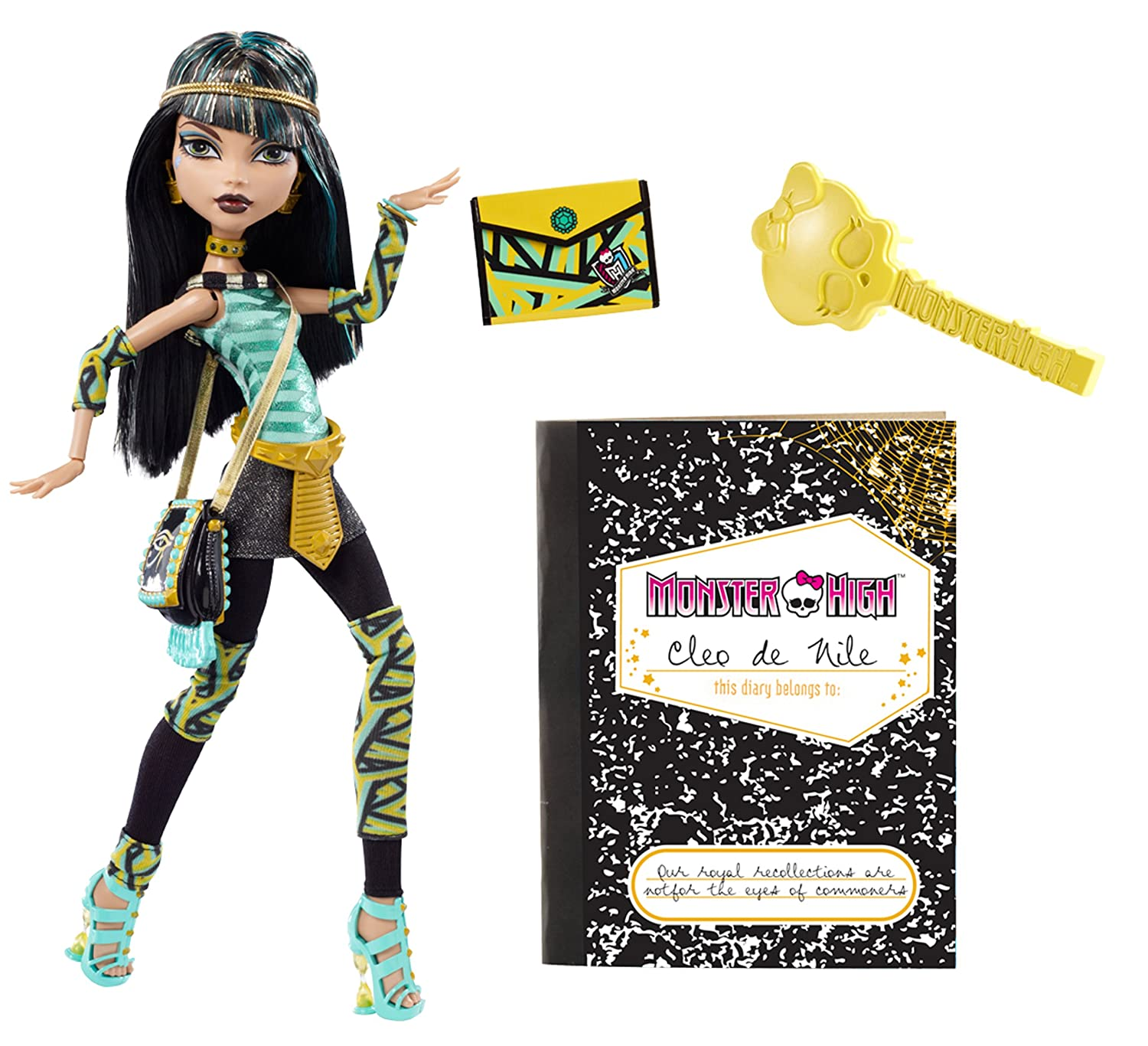 Amazoncom Monster High Cleo De Nile Doll Toys  Games