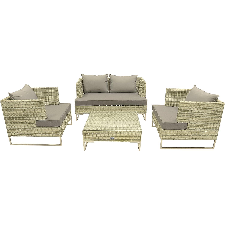 Futura Loungeset 4 piezas 2 22 de sillas de banco de la mesa ...