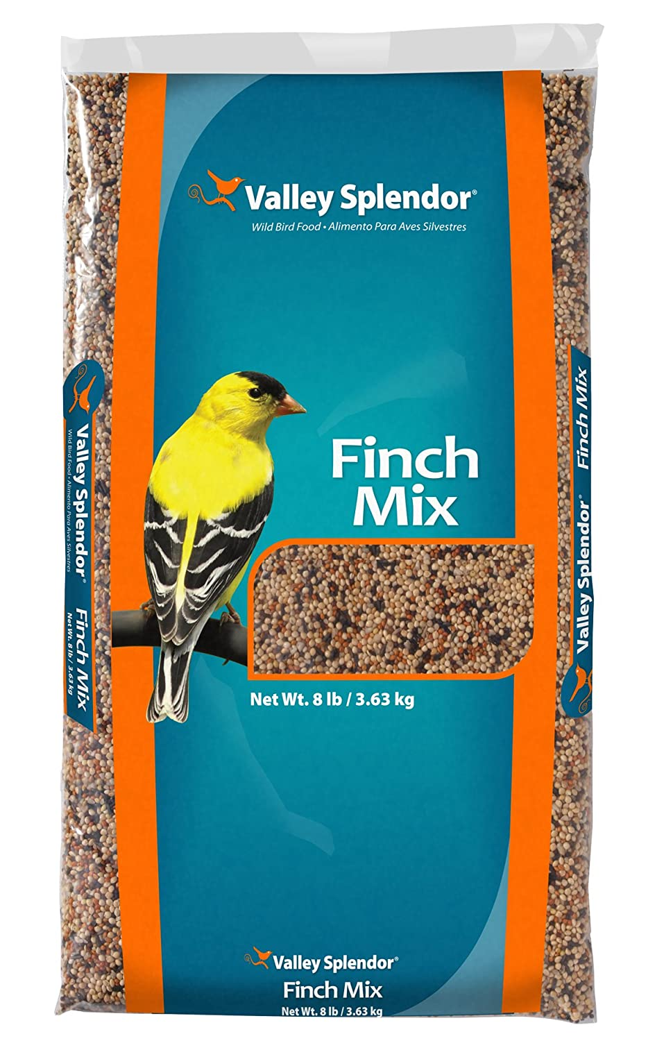 Red River Commodities 338 Valley Splendor Finches Favorite Bird Seed, 8 Pounds