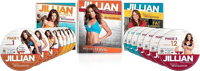 Amazon.com : Jillian Michaels Body Revolution : Exercise And Fitness Video Recordings : Movies & TV