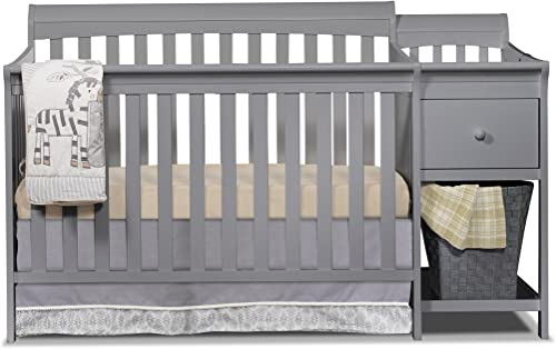Sorelle Crib, Three beds, Gray