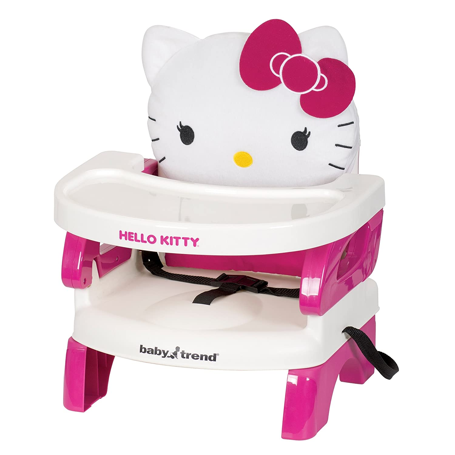 Hello kitty chair - Amazon Com Baby Trend Portable High Chair Easyseat Toddler Booster Hello Kitty Polka Dot Baby