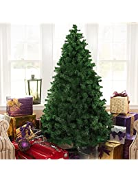 the finest 6 feet super premium artificial christmas pine tree with solid metal legs - Mini Artificial Christmas Trees