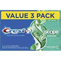 3-Pack Crest Complete Whitening + Scope Toothpaste, Minty Fresh, 5.4 Ounce