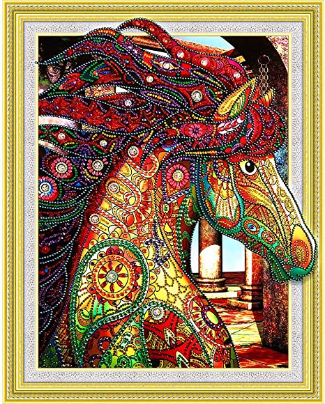DIY Diamond Number Rhinestone Painting Kits for Adults and Children Embroidery Diamond Arts Craft Home Decor New 5D Diamond Painting Kit