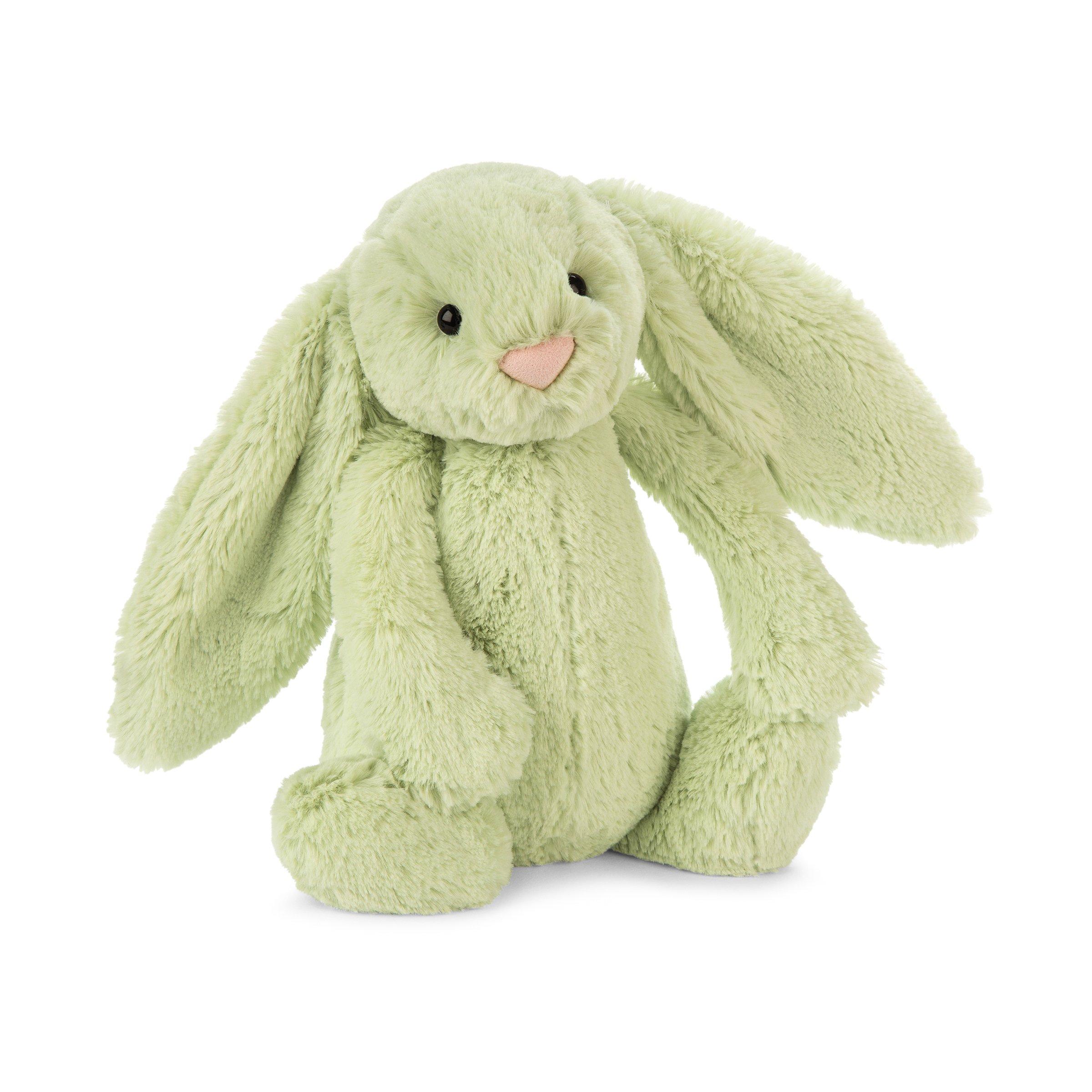Medium 12 inches Jellycat Bashful Donkey Stuffed Animal