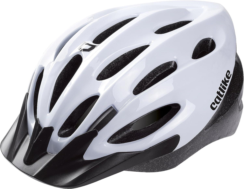 Unisex Adulto M//55-59 cm Catlike Zest Casco de Ciclismo Blanco