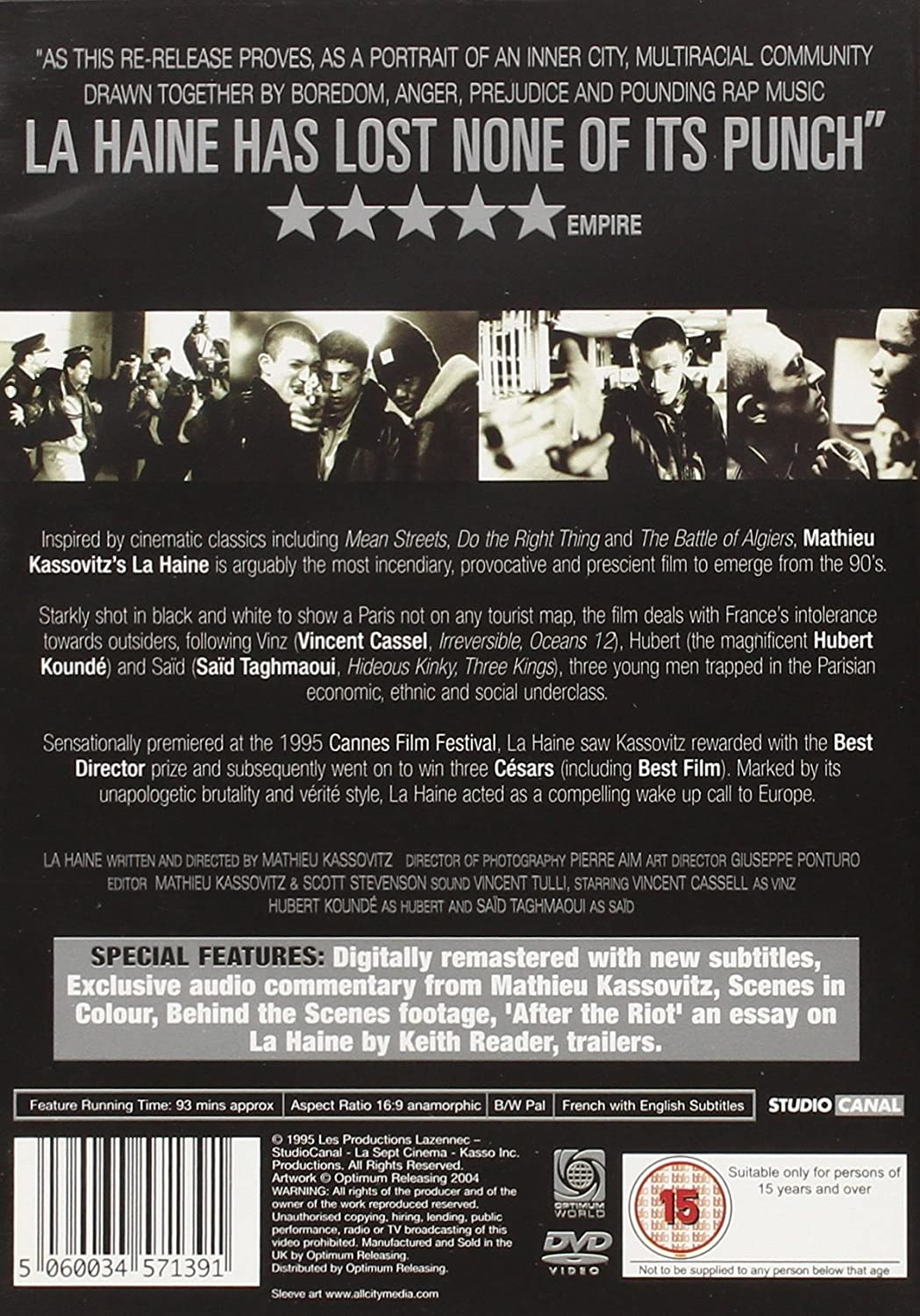 amazon co jp la haine dvd import dvd atilde atilde atilde atilde frac atilde not atilde curren vincent amazon co jp la haine dvd import dvdatilde131 atilde131150atilde131 atilde131frac14atilde131notatilde130curren vincent cassel hubert koundatildecopy saatildemacrd taghmaoui abdel ahmed ghili solo joseph momo hatildecopyloatildemacrse rauth