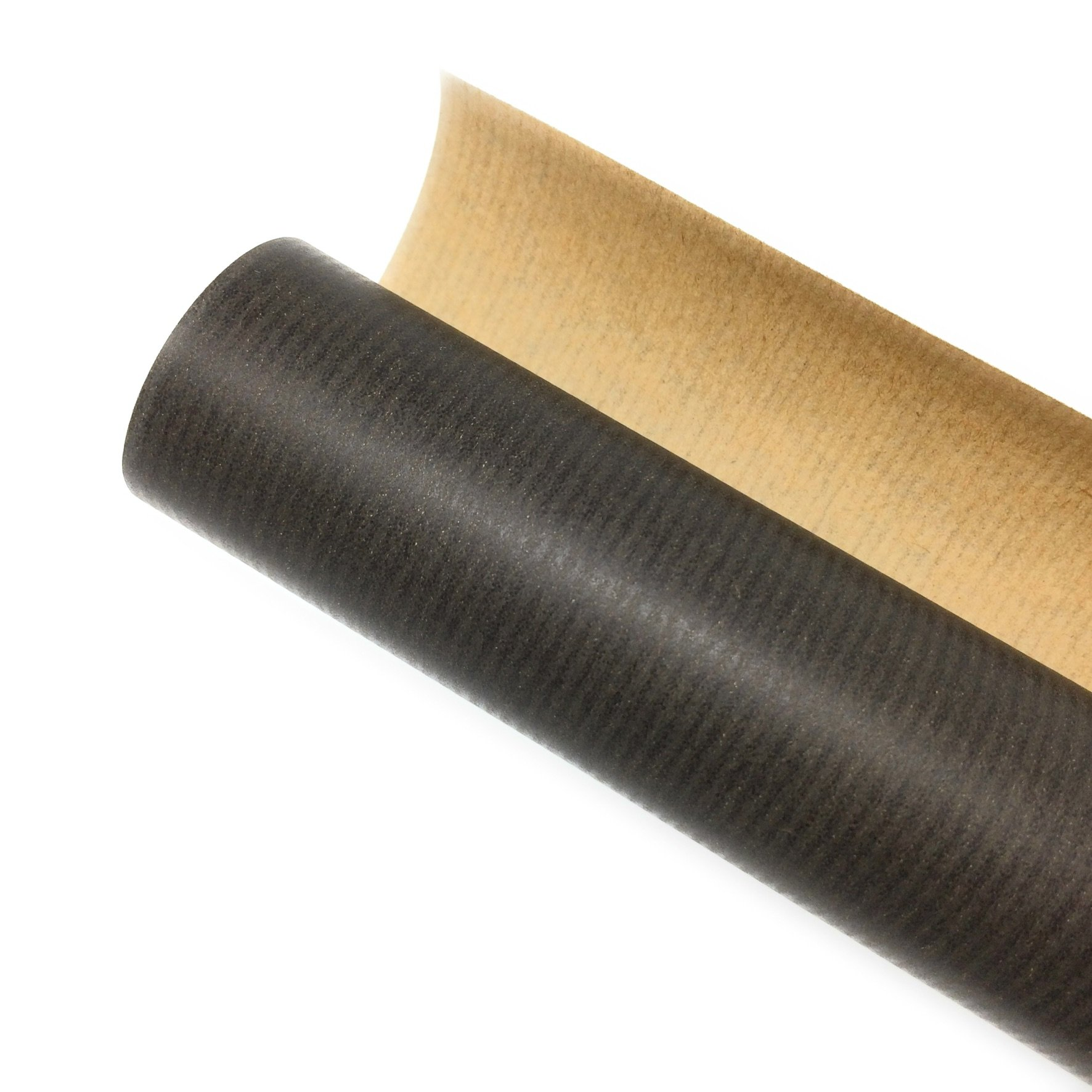 Black Kraft No. 1 – Plain Black Kraft Wrapping Paper Roll 3m 100% Recycled