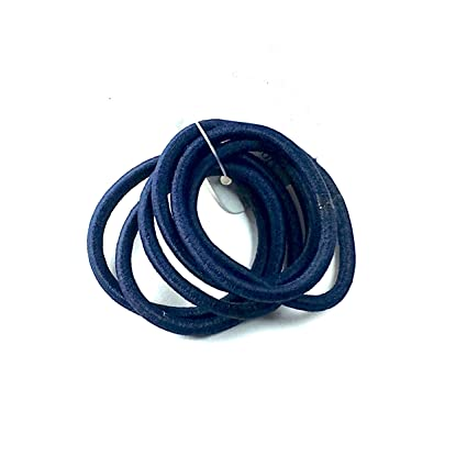 Snag Free Thin Elastic Hair Bandscolour hair bobbles Band School Ponytail