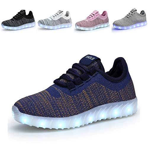 Amazon    SIKELO Boys Boys Boys Girls 22 Farbes LED Light Up Running Schuhes 98c751