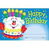 Trend Enterprises Happy Birthday Cake Recognition Awards, 30 per Package (T-81017)