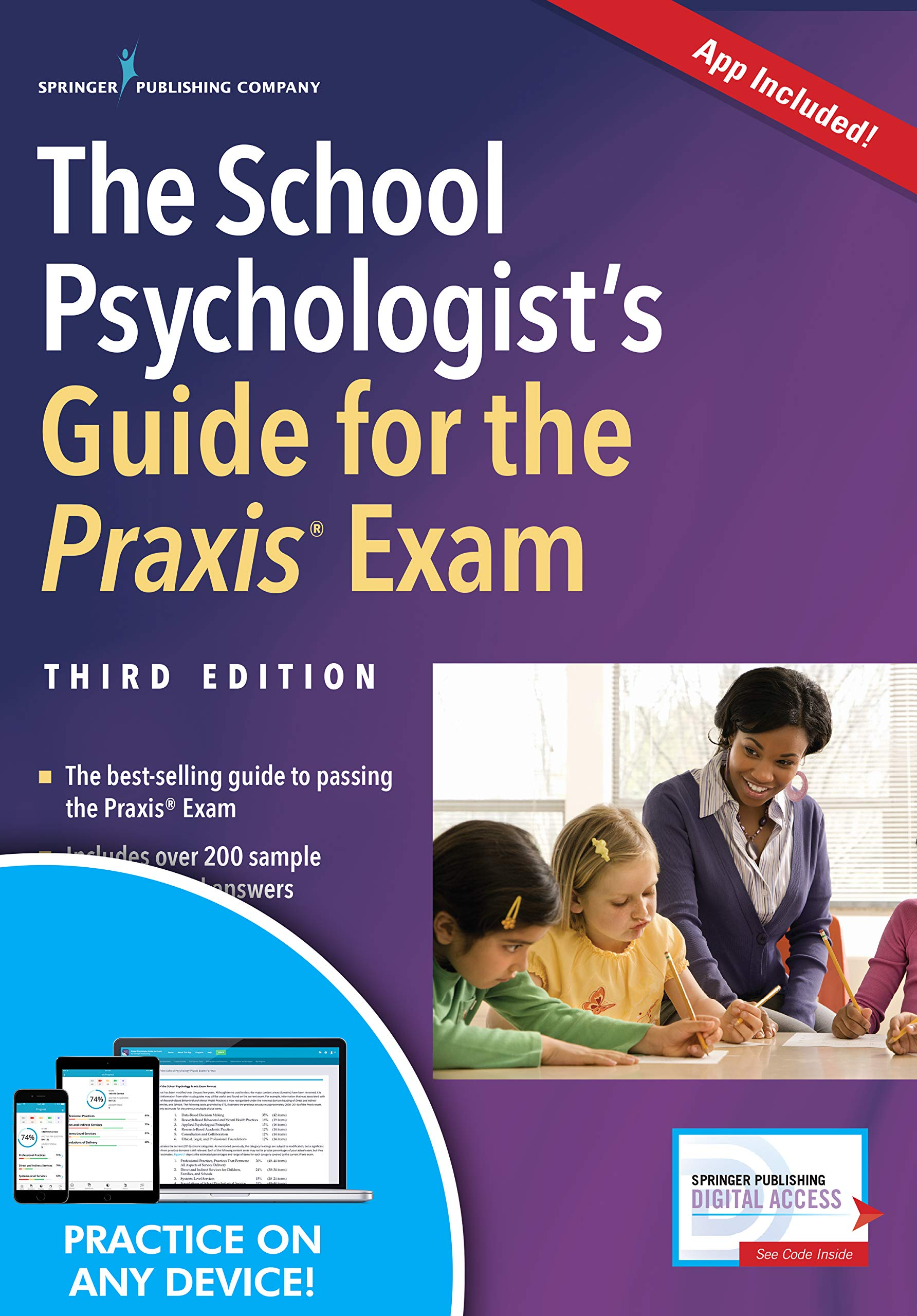 The School Psychologist's Guide for the Praxis Exam, Third