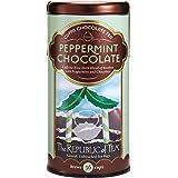 The Republic of Tea, Peppermint Cuppa Chocolate Tea, No-Caffeine, 36 Tea Bags