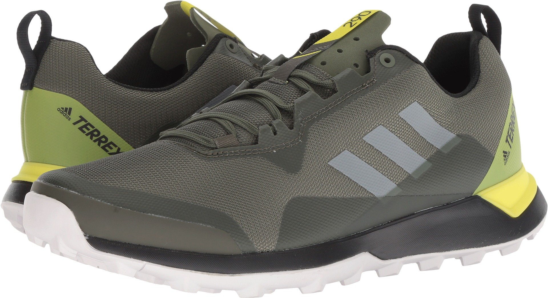 adidas outdoor  Men's Terrex CMTK Base Green/Grey One/Shock Yellow 11 D US by adidas outdoor