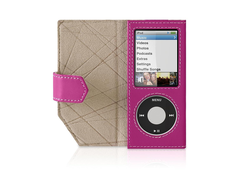 f9f1bd1befbc8 Belkin Leather Folio Case for iPod nano 4G (Pink)
