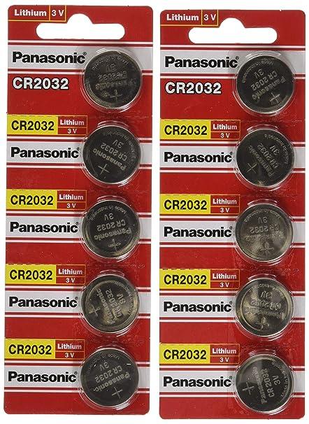 Panasonic CR2032 au lithium 3 V DL2032 l2032  Amazon.fr  Hygiène et ... 4567466b8a69