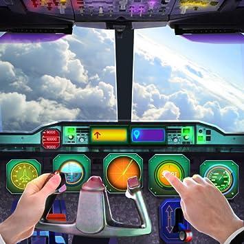 Amazon com: Airplane Cockpit Flight Control Simulator 3D: Appstore