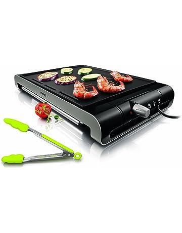XXL Grand Long électrique Teppanyaki Table Grill Crêpière barbecue jardin Yard