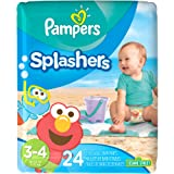 Amazon Price History for:Pampers Splashers Diaper Sesame Street - Size 3-4 - 24 ct
