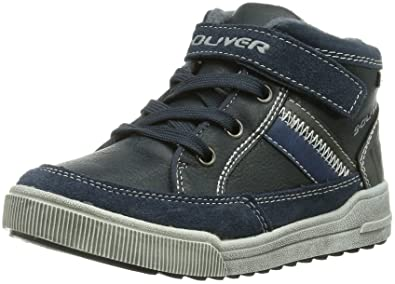 s.Oliver 35302, Sneakers Basses garçon - Bleu - Bleu (NAVY 805), 29 EU/11 UK Child