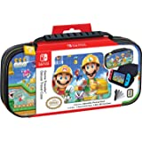 RDS Industries Officially Licensed Nintendo Switch Super Mario Maker Carrying Case- Protective Deluxe Travel Case - Nintendo