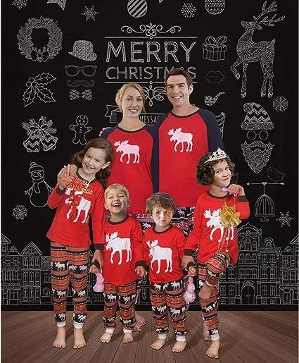 Pijamas Familiares Navidad,Navidad Familia A Juego Pijamas ...