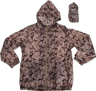 Pro Climate ProClimate Childrens Girls Dog Pattern Waterproof Packable Cagoule Jacket Packaway Bag