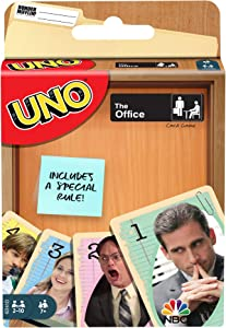 ​UNO The Office Card Game with 112 Cards & Instructions, Gift for Kid, Adult or Family Game Night, Ages 7 Years & Older​​​​