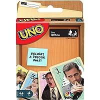 Mattel Games Juego de Cartas UNO The Office con 112 Tarjetas e Instrucciones, Regalo para niños, Adultos o Familiares de…