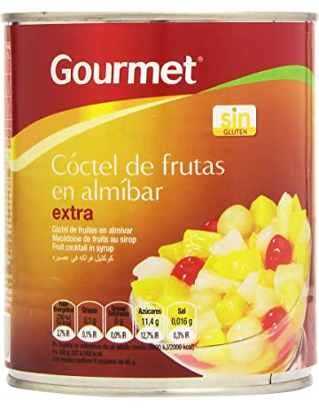 Gourmet - Cóctel de frutas en almíbar - Extra - 480 g