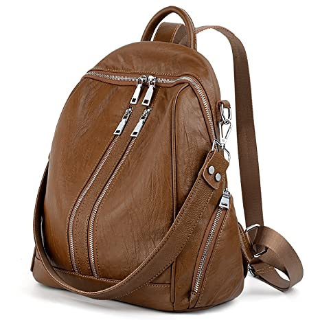 A Marrone Donna Borsa Zainetto Borse Brown Howoo 8wNvmOn0