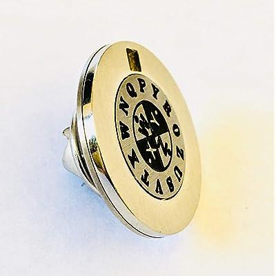 Retroworks Spy Decoder Lapel Pin / Tie Tac: Toys & Games