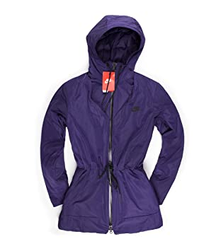 dc76b765acaf0 Nike Women's Insulated Down Hooded Parka Jacket Purple (s): Amazon.co.uk:  Sports & Outdoors