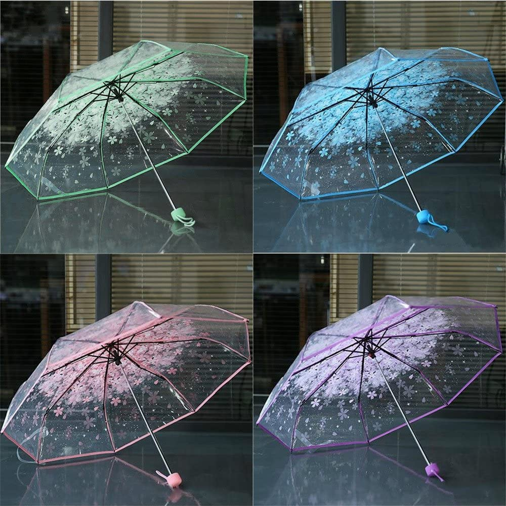PYFXSALA Multicoloured Mushroom Net Windproof Inverted Umbrella Double Layer UV Protection Self Stand Upside Down with C-Shaped Handle Folding Reverse Umbrella for Car Rain Outdoor