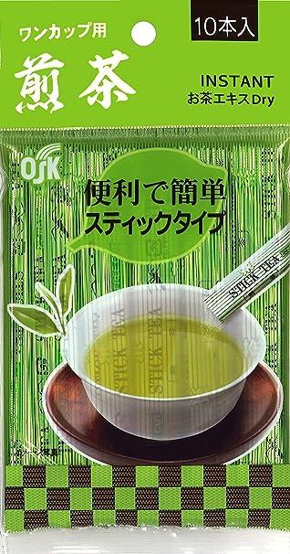 OSKインスタントティー煎茶(0.8g×10本) ×5個 粉末