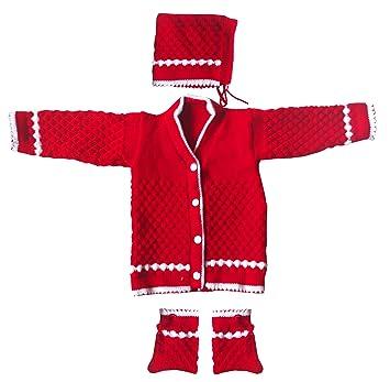 9d56b2073 Apna Showroom New Born Baby Woollen Sweater Combo Set Handmade ...