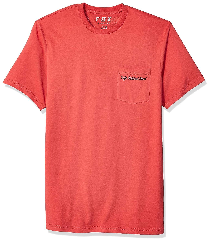 Rio Red Fox Mens Resin Short Sleeve Airline Premium T-Shirt T-Shirt