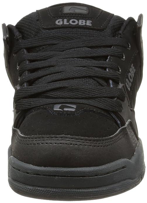 Globe Tilt, Zapatillas de Skateboarding para Hombre, Negro (Black/Red 0), 48 EU