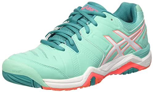 Asics Gel Challenger 10 Scarpe da Ginnastica Donna Verde Cockatoo/White/Flash