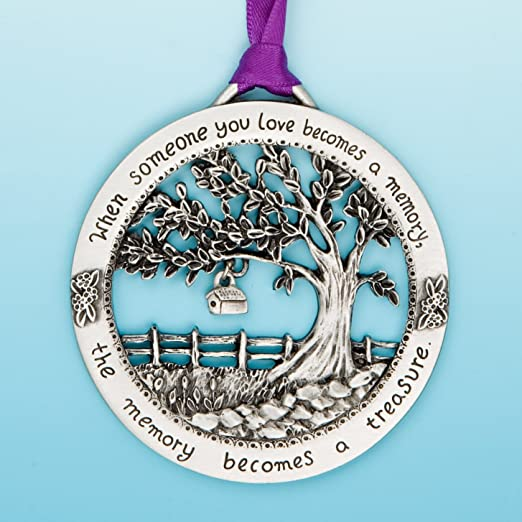 When Someone You Love Becomes a Memory Christmas Tree Hanging Pendant