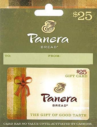 Amazon.com: Panera Bread Gift Card $25: Gift Cards
