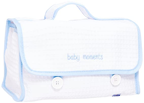 Chicco 8033828710280 - Cofanetto baby moments set azul 3205: Amazon.es: Bebé