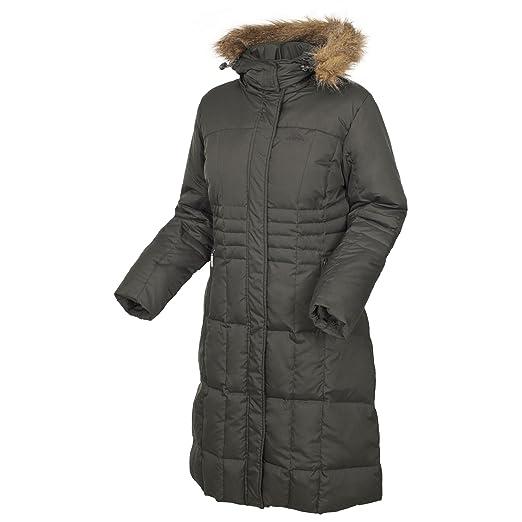 Ladna women's faux fur trim down jacket