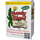 Dandy Blend, Instant Herbal Beverage With Dandelion, 25 Single Serving Pouches - 2pcs