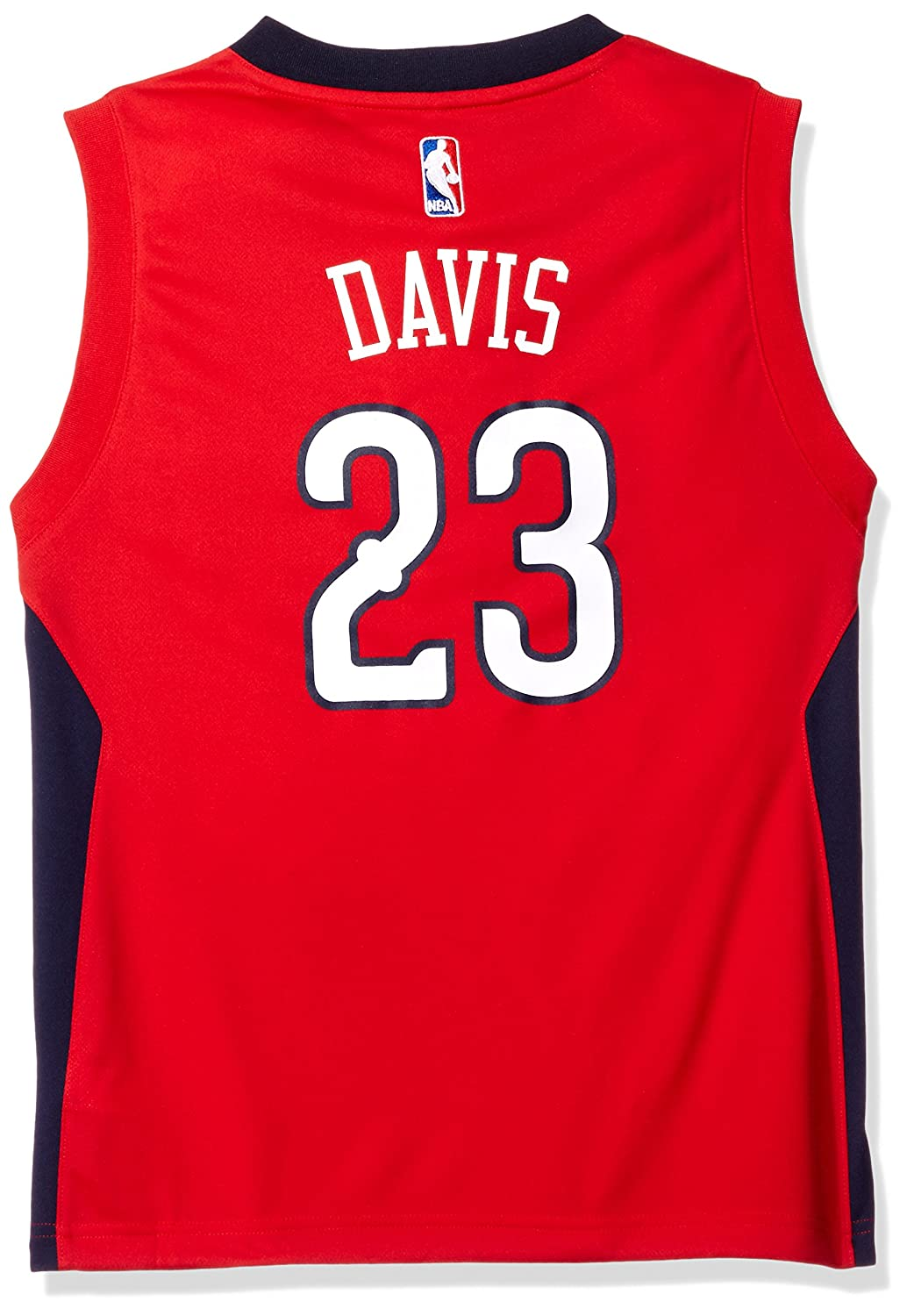 50540b82958a Amazon.com   NBA Youth 8-20 New Orleans Pelicans Davis Replica Alternate  jersey   Sports   Outdoors