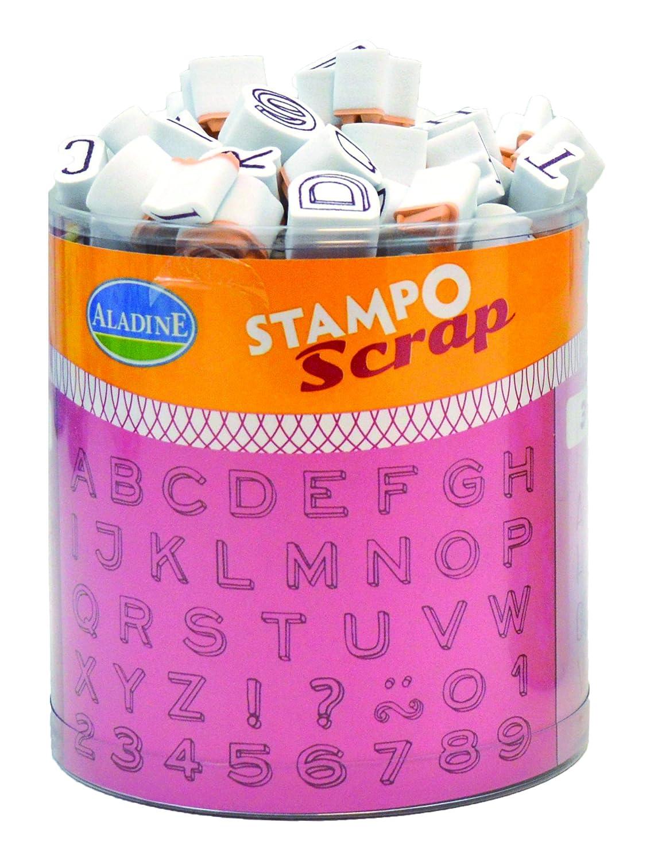 Aladine - 03733 - Stampo - Scrap Mini Alphabet