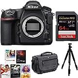 Nikon D850 Full Frame FX- Format Digital SLR Camera Body + 64GB Holiday Bundle